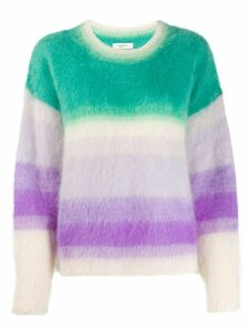Isabel Marant Étoile textured dégradé knit jumper - Green