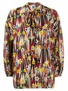 M Missoni floral print blouse - NEUTRALS