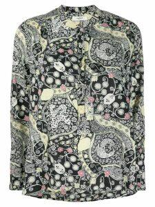 Isabel Marant Étoile Maria floral blouse - Black