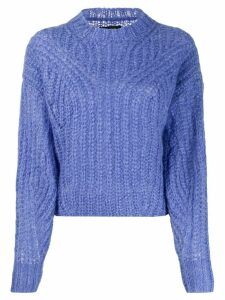 Isabel Marant Inko mock neck jumper - Blue