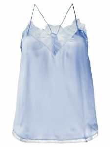 IRO lace-detail camisole top - Blue