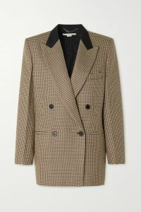 Cecilie Bahnsen - Open-back Ruffled Silk-satin Blouse - Black