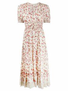 Ulla Johnson Zaria floral print dress - NEUTRALS