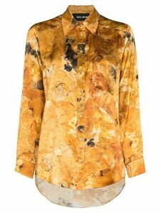 Märta Larsson Smith boyfriend shirt - Yellow