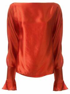 Christopher Esber Ilona blouse - Red