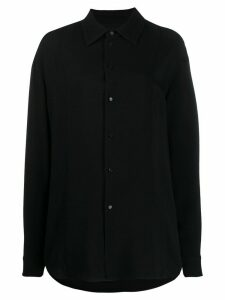 Jil Sander oversized button-up shirt - Black