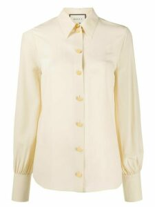 Gucci buttoned shirt - NEUTRALS