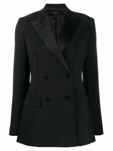 Theory double-breasted tailored blazer - Black