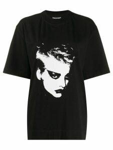 House of Holland face print T-shirt - Black