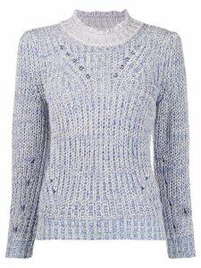 Isabel Marant Étoile Lotiya knitted jumper - Blue