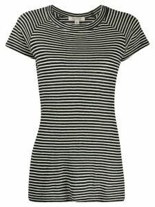 Nili Lotan striped round neck T-shirt - Black