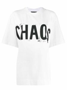 House of Holland Chaos print T-shirt - White
