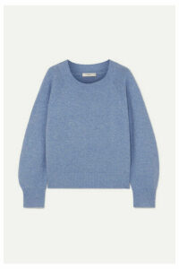Vince - Wool And Cashmere-blend Sweater - Blue