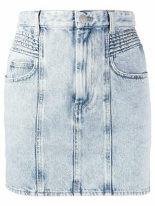 Isabel Marant Étoile high-rise denim skirt - Blue