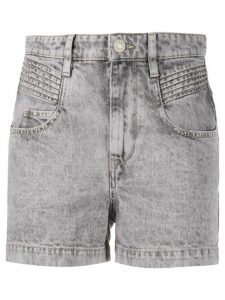 Isabel Marant Étoile Hiana denim shorts - PURPLE