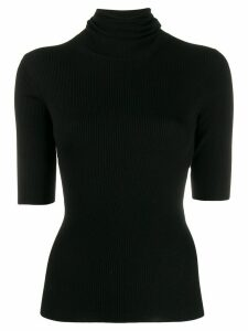 Theory ribbed-knit top - Black