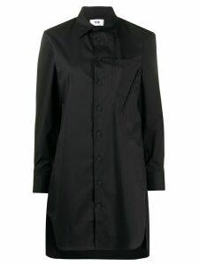 Y-3 Yohji Yamamoto longline shirt - Black