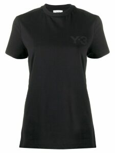 Y-3 boxy round neck T-shirt - Black