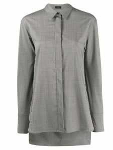 Joseph concealed placket shirt - Grey