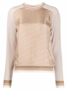 Bally crew neck top - PINK