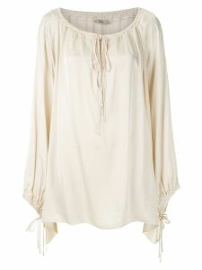 Egrey Satine long sleeves blouse - NEUTRALS