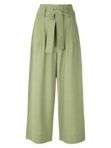 Egrey Thea wide leg trousers - Green