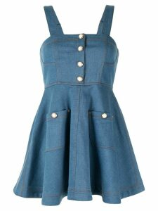 Alice McCall Girl Pearl flared mini dress - Blue