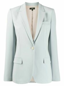 Theory fitted single-breasted blazer - Blue