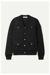Comme des Garçons Comme des Garçons - Wool Cardigan - Black