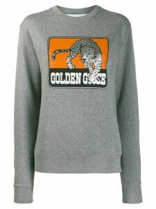 Golden Goose logo sweatshirt - Grey