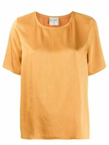 Forte Forte short-sleeved loose-fit blouse - Yellow