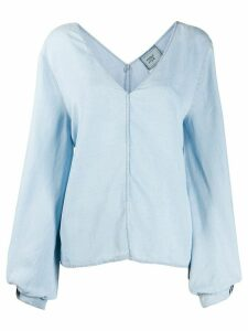 Forte Forte denim blouse - Blue
