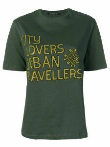 Mr & Mrs Italy rhinestone-embellished T-shirt - Green