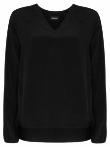 Märta Larsson Farrah bat-sleeve blouse - Black