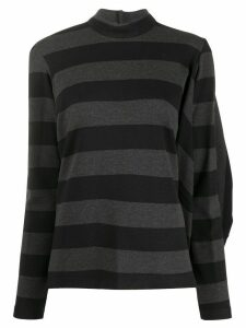 Chalayan Vogue gathered jumper - Black