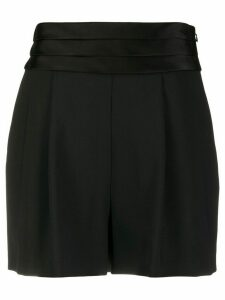 DVF Diane von Furstenberg high-waisted shorts - Black