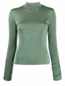 M Missoni two-tone lurex jumper - Green