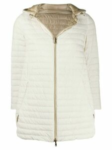 Herno padded shell jacket - NEUTRALS