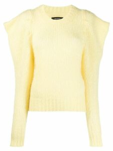 Isabel Marant Ivelyne puff sleeve jumper - Yellow