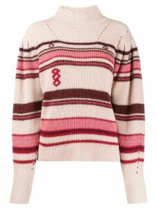 Isabel Marant Étoile striped jumper - PINK