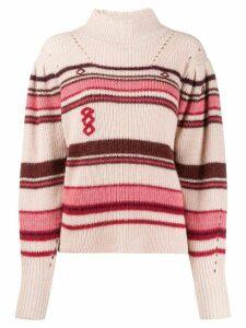 Isabel Marant Étoile striped jumper - PINK