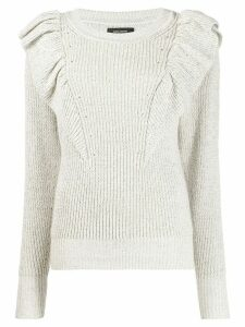 Isabel Marant Blakely jumper - NEUTRALS