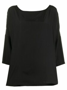 M Missoni crepe de chine boxy tunic - Black
