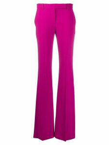 Alexander McQueen flared tailored trousers - PINK