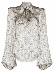 The Vampire's Wife Liberty floral print blouse - PURPLE