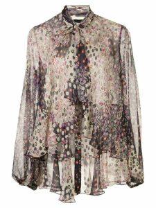 Dsquared2 floral print blouse - Black