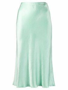 Nanushka Zarina slip skirt - Green