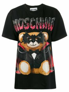 Moschino Mask Teddy Bear print T-shirt - Black