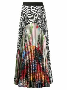 Missoni high-waist maxi pleated skirt - White