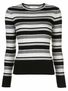 FRAME ribbed striped jumper - Metallic
